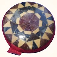 A Fine 19th Century Tunbridge Ware Pincushion