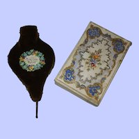 A Victorian  Needlecase and Pin/Needle Box