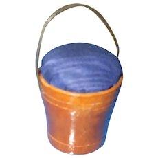 A Charming Little 19th Century Bucket Pin Cushion