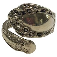 Vintage Alvin Sterling Prince Eugene Spoon Ring