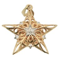 "14k Gold ""Wish Upon A Star"" Pendant"