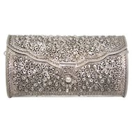 Vintage Sterling Silver Purse/ Clutch