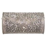 Vintage Sterling Silver Purse/ Clutch