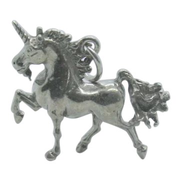 Sterling Silver Unicorn Pendant/Charm