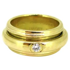 Piaget Possession Collection Diamond Large Band Ring, 18kt yellow gold, 1993