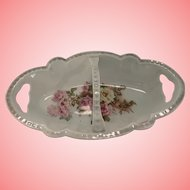 Sweet German relish dish with handle