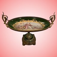 Impressive  French Sevres Type Console bowl