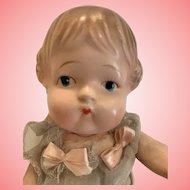 "Adorable  mint 9"" composition girl"