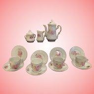 "Lovely vintage Tea  set for 16"" doll"