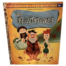 Vintage 1961 The Flintstones little golden book