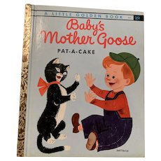 Little golden book, Baby's Mother goose