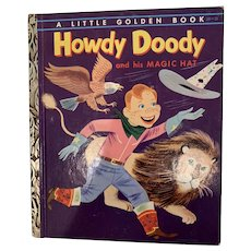 Vintage Howdy Doody little golden book
