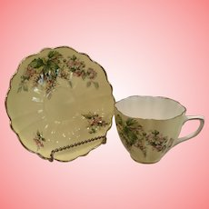 Vintage Old Royal china cup and saucer