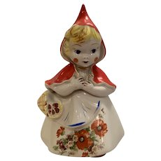 Vintage Hull Red riding hood Cookie Jar