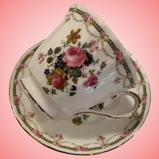 Vintage Duchess cup and saucer
