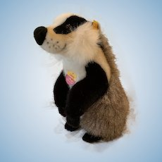 Cute Vintage Steiff Litzzy Badger