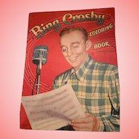 Bing Crosby 1964 color book