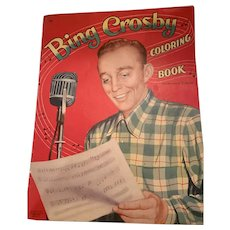 Bing Crosby 1964 color book