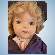All original 1930's mamma doll