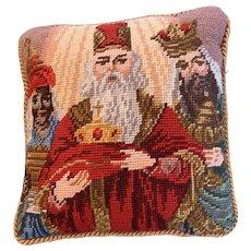 """Sweet Christmas """"We three Kings"""" Christmas pillow"""