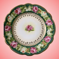 Sweetest Austrian roses plate