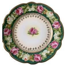 Sweetest Austrian roses plate