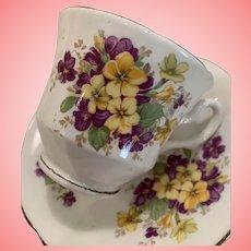 Vintage Royal Stuart cup and saucer