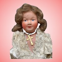 Vintage French celluloid regional girl