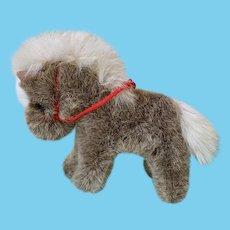Sweet Steiff brown pony