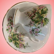 Lovely vintage Derby cup and saucer
