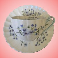 Vintage mid century Shelley cup and saucer