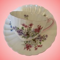 Lovely vintage Shelley cup and saucer