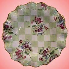Vintage MacKensie Child salad bowl