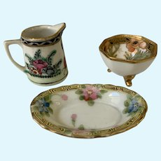 Fancy miniature china  for dolly