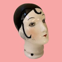 Vintage German doll head for pin cushion