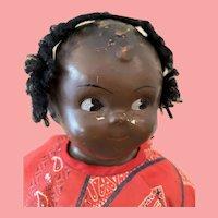 Vintage Composition black Grace Drayton doll