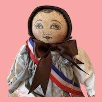 Mint in box 1993 UFDC Colombian girl doll