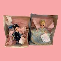 Vintage MIB Madam Alexander Cinderella and prince