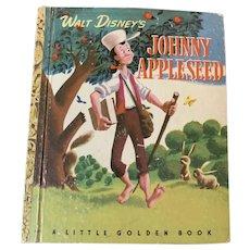 1949 edition Disney Johnny Appleseed