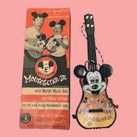 1953 Disney Mousegetar jr. by Mattel