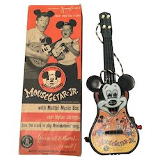 1953 Disney Mousegetar jr. by Mattel