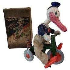 Fabulous Disney Donald Duck cyclist