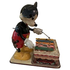 Great Linemar Disney Mickey Mouse playing xylophone