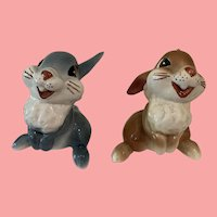 Adorable Shaw pottery Disney Thumper and girlfriend