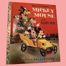 First edition, 1953, Disney little golden book
