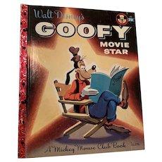 Rare first edition, Disney Goofy Movie star little golden book