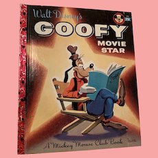 Rare first edition, Disney Goofy Movie star little golden book