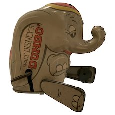 Vintage Louis Marx Disney dumbo tin hopper