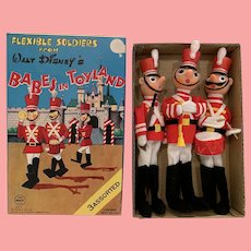 Wonderful Disney 'babes in toy land boxed soldiers