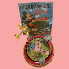 Rare MIB Disney Mickey Mouse Express